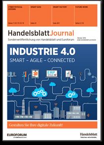 Front Page Handelsblatt Journal Industrie 4.0