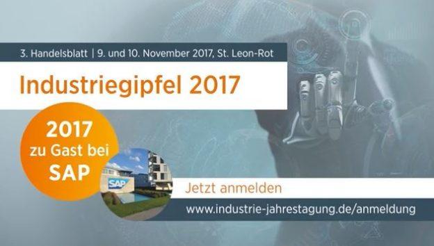 Trailer Video Industrie-Gipfel 2017