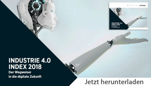 "Download: Digitales Magazin ""Industrie 4.0 Index 2018 – Der Wegweiser in die digitale Zukunft"""