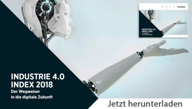 """Download: Digitales Magazin """"Industrie 4.0 Index 2018 – Der Wegweiser in die digitale Zukunft"""""""