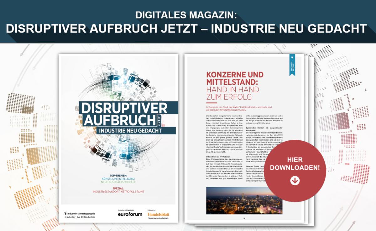 Beitragsbild Digitales Magazin Industrie-Gipfel