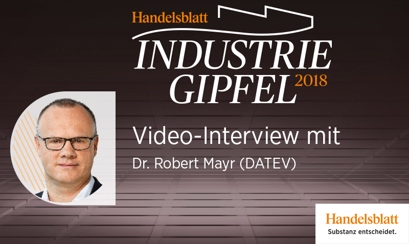 Video-Interview mit Dr. Robert Mayr (DATEV)