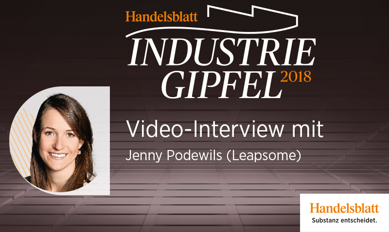 Video-Interview mit Jenny Podewils (Leapsome)