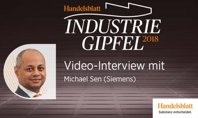 Video-Interview mit Michael Sen (Siemens)