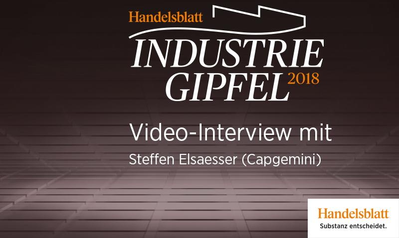 Video-Interview mit Steffen Elsaesser (Capgemini)