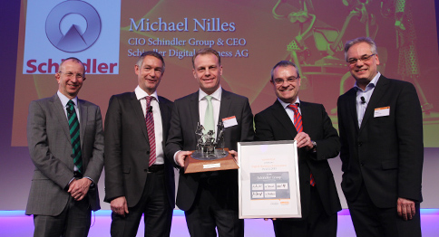Digital Business INnovation Award 2015 Schindler
