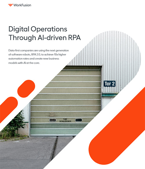 Digital Operations through AI-driven RPA: