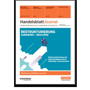 Handelsblatt Journal Restrukturierung, Sanierung, Insolvenz