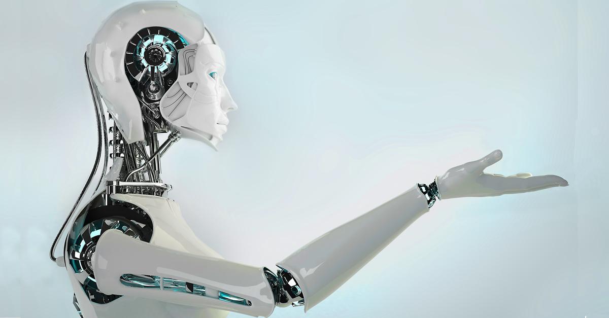 """ Hilfe, die Roboter kommen …"""