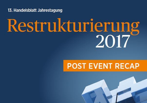 Restrukturierung Post Event Recap Cover