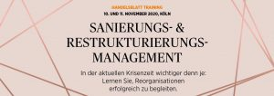 Restrukturierungs- und Sanierungsmanagement