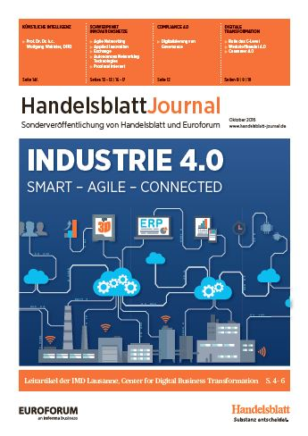 Handelsblatt Journal Industrie 4.0
